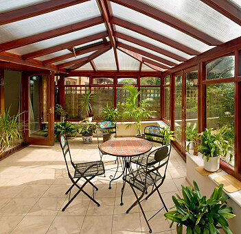 Hardwood or Engineered Wood Orangery